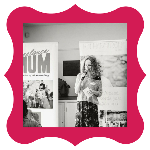Rin-Hamburgh -guest-speaker-Freelance-Mum-blogging