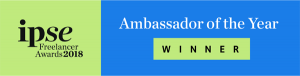 Ambassador of the year award winner logo from IPSE