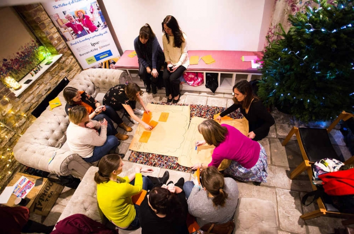 Barn Venue Bristol For Hire Workshop In Progress