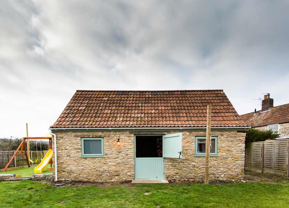 Bristol Venue For Hire Outside Of Barn Building