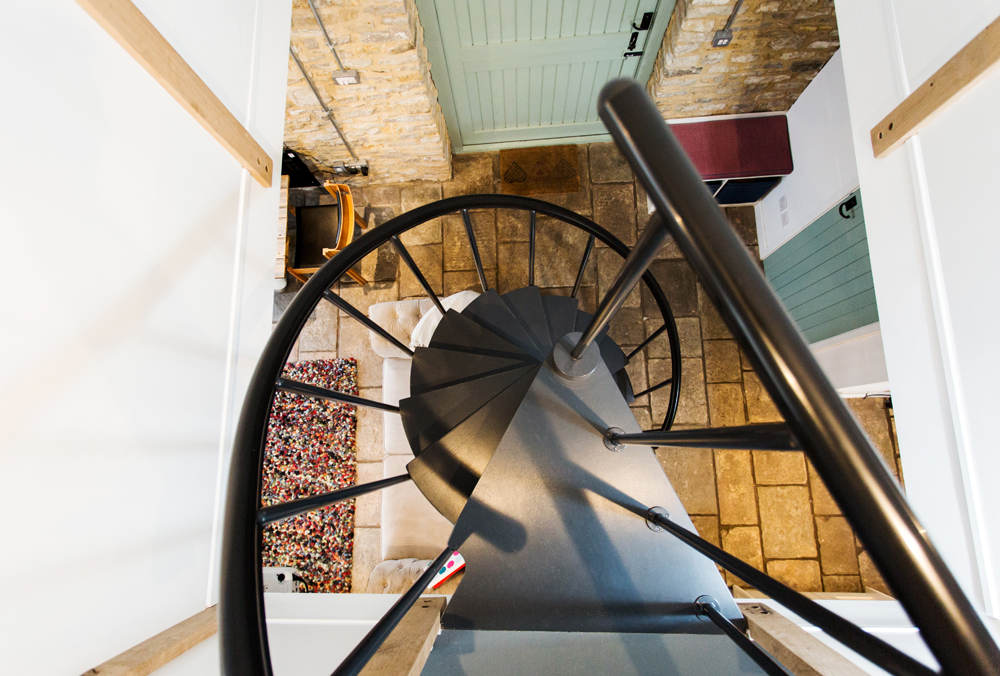 Spiral Staircase Barn Venue Hire Bristol Suitable For Meetings Workshops